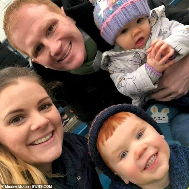 When he discovered the cancer was untreatable, the father-of-two declined to spend his final months in a hospice, Instead, he chose to stay at home with Maxine and their children Eden, aged one, and Ethan, aged three