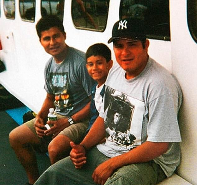 Alcides Moreno (pictured  left) with his son Michael (center) and brother Edgar Moreno (right). Alcides Moreno and his brother Edgar were window washers in New York City, but in 2007, the scaffolding they were working on collapsed, and they fell from a 47-storey building. Alcides survived, but Edgar died. One theory about why Alcides lived is because, when the scaffolding gave way, he lay flat and clung to the platform, as professional window washers are trained to do