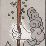 ace of wands rider-waite card
